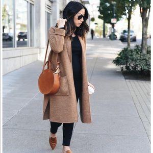 LOWEST‼️Madewell Camden Sweater Coat